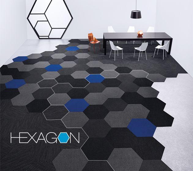 Plane tile & Linear tile | Hexagon