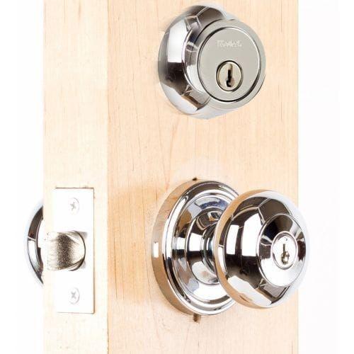 Weslock 640I 671 Single Cylinder Keyed Entry Impresa Door Knob Set And 671  Deadbolt Combo