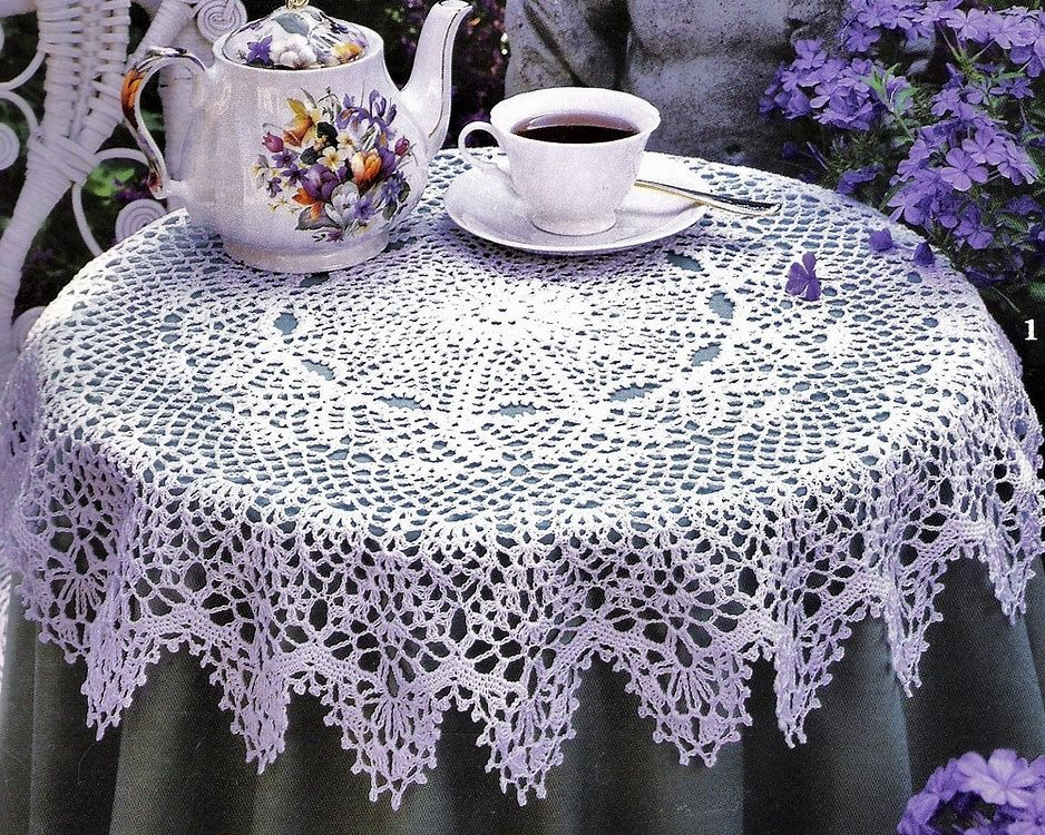 Image Result For Round Crochet Tablecloth Free Patterns Try
