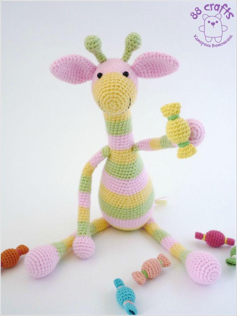 crochet toy / giraffe Candy made by Katerina Vet as \