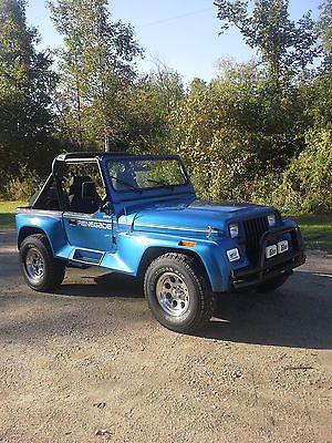 Ebay 1991 Jeep Wrangler Renegade 1991 Jeep Renegade Met Blue Over Black 5 Spd Jeep Jeeplife Usdeals Rssdata Net