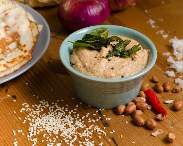 Cobri, Nuvvulu & Palli Pachadi/Coconut, Peanut & Sesame seeds Chutney - Side Dish for Idly/Dosa | I Camp in my Kitchen