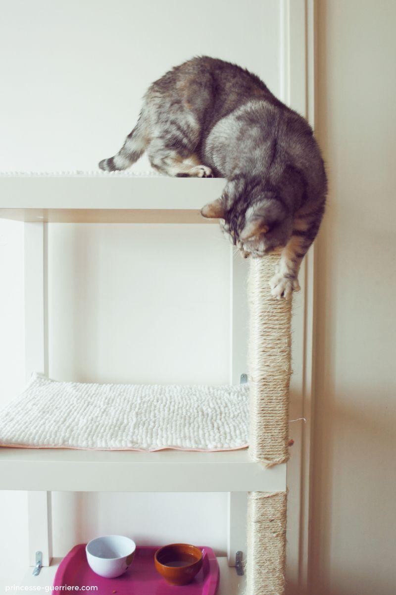 toi aussi viens faire ton arbre chat avec ikea diy. Black Bedroom Furniture Sets. Home Design Ideas