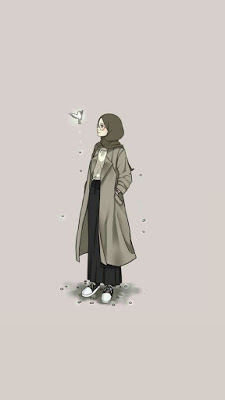 خلفيات بنات محجبات Hijab Cartoon Girl Cartoon Islamic Cartoon