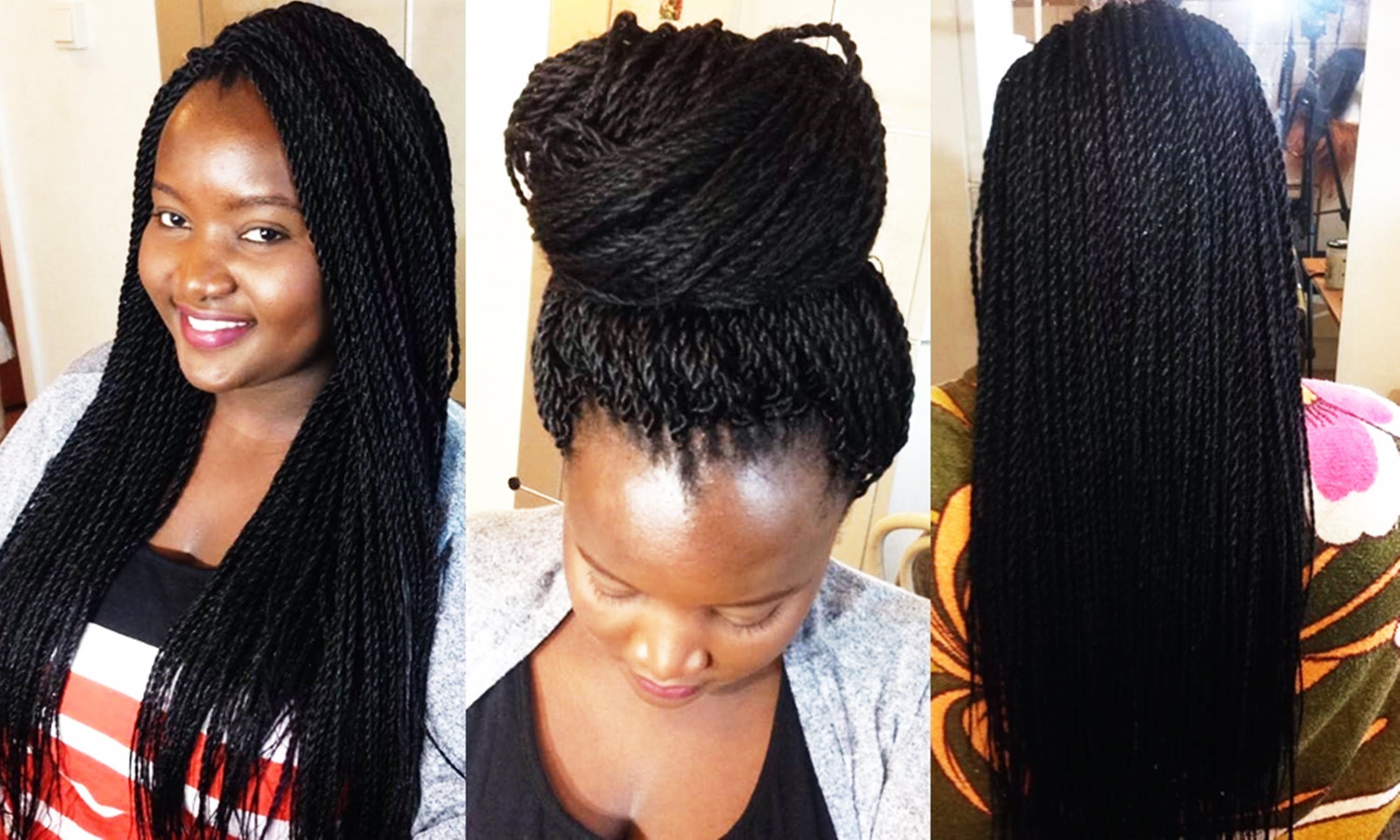 Twist Braids Hairstyles Prepossessing How To Crochet Twist Braids │Quick & Easy  Crochet Braids