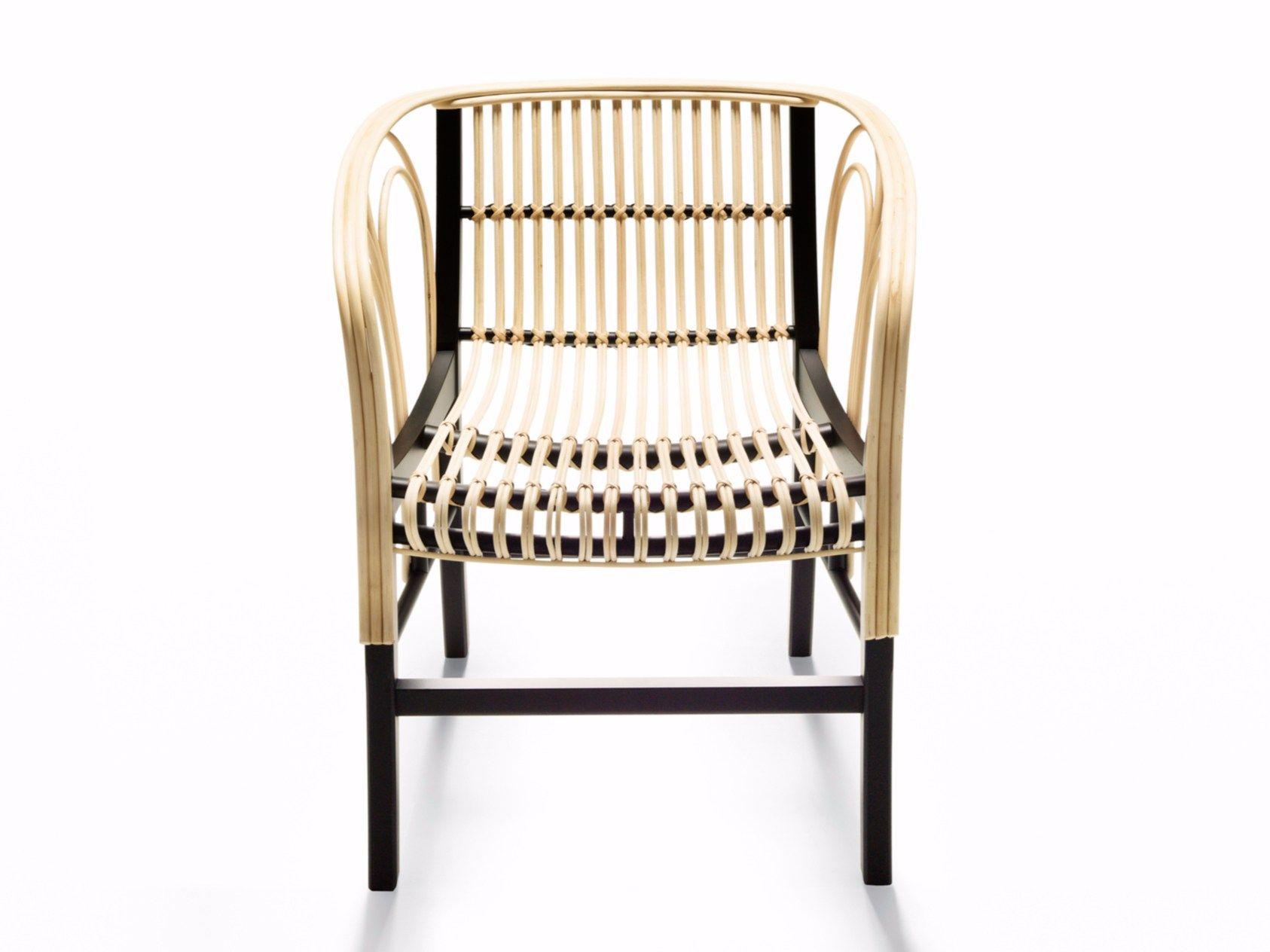 Sedie In Midollino.Sedia In Midollino Con Braccioli Uragano By De Padova Design