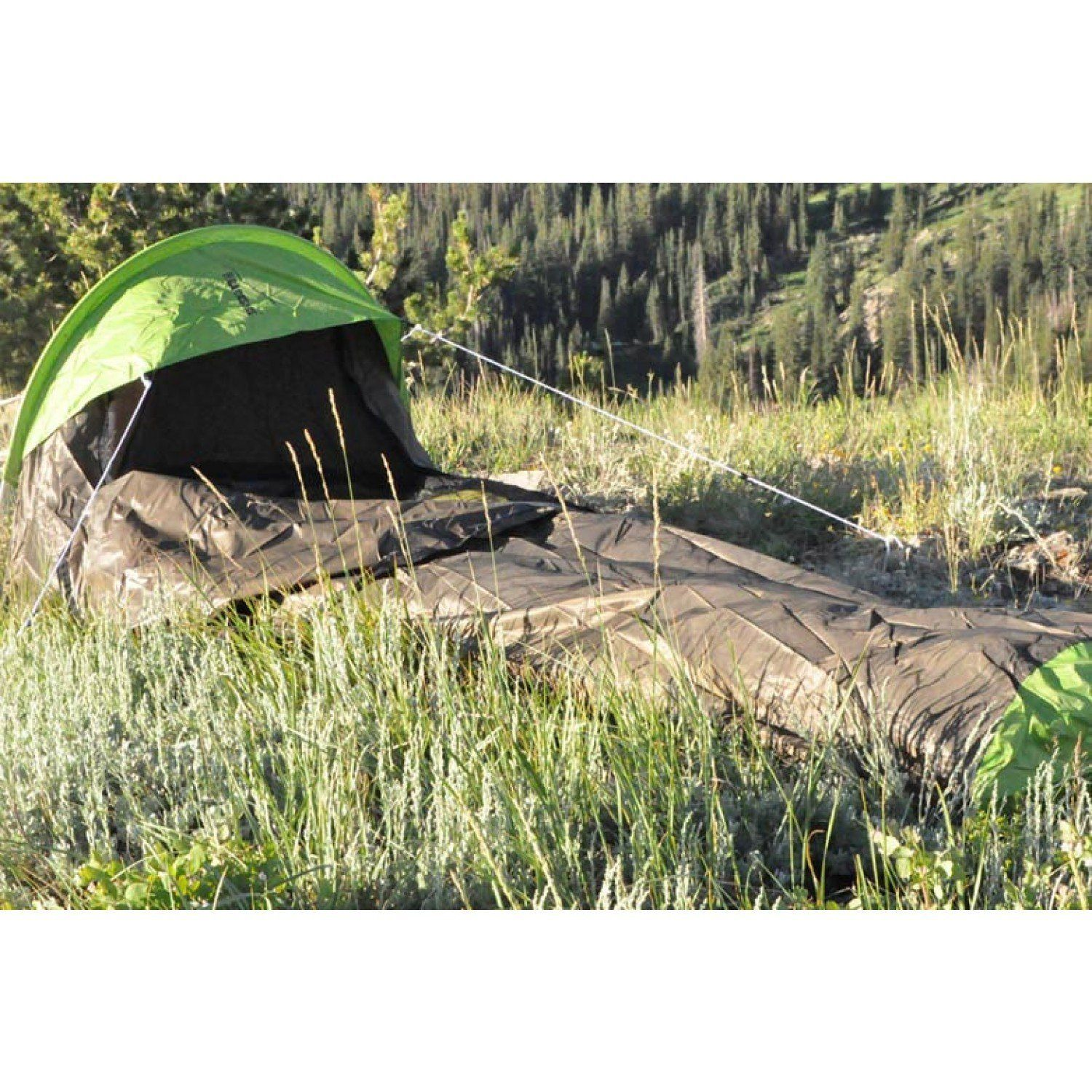 The Backside by Black Pine T-7 T-Series 1-Person 3-  sc 1 st  Pinterest : 1 person 3 season tent - memphite.com