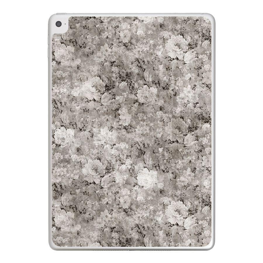 Black White Flowers iPad Tablet Skin  Ipad tablet iPad and Products