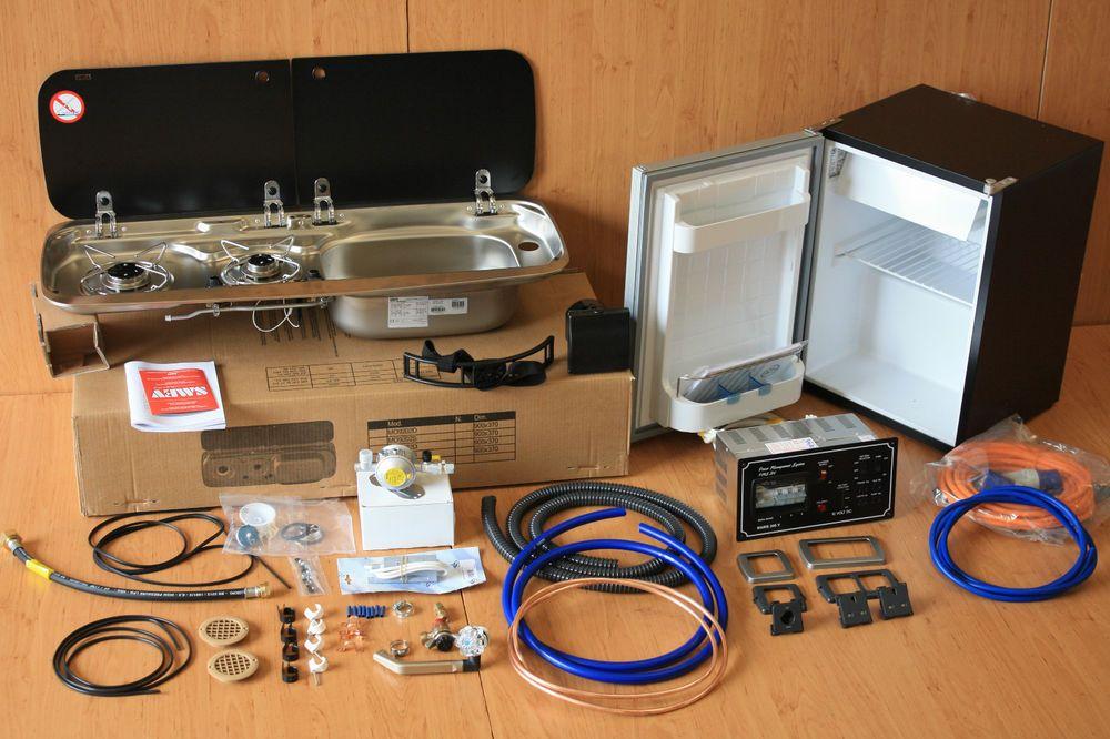 Camper or campervan conversion unit vw t4 t5 renault for Campervan furniture plans