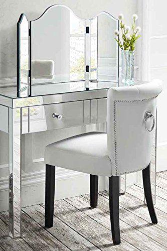 MY-Furniture ASHBOURNE Dreifach klappbarer Spiegel für - spiegel f r schlafzimmer