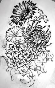 Morning Glory Flowers Aster Tattoo And Morning Glory Tattoo Birth Flower Tattoos Tattoos Birth Month Flowers