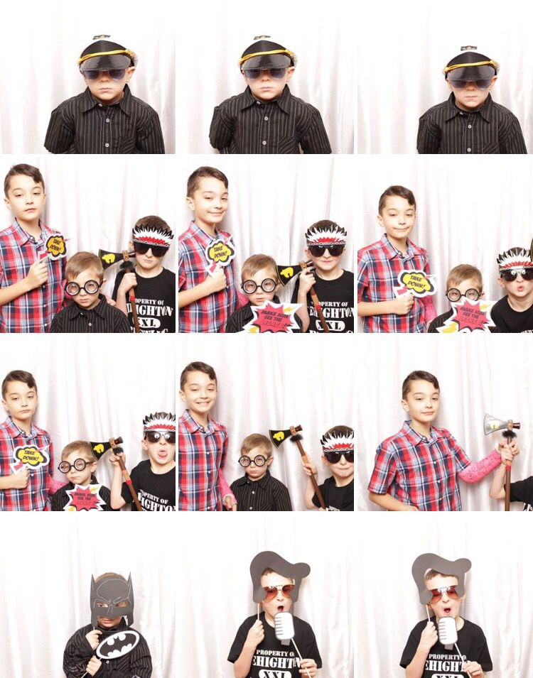 More Fun with the boys in the photobooth!