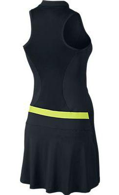 f7df5c6dc9 Black Volt Nike Ladies Sleeveless Golf Dress at  lorisgolfshoppe Golf De  Mujeres
