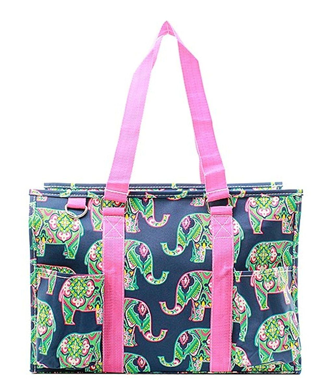 440979f9a Amazon.com  N Gil All Purpose Organizer Medium Utility Tote Bag (Elephant  Hot Pink)  Shoes
