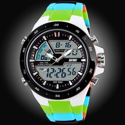 50M Waterproof Mens Sports Watches