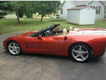 Newest Vet 2005 Corvette Convertible 12 000 Miles Daytona Sunset Orange Corvette Convertible Corvette American Muscle Cars