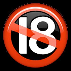 No One Under Eighteen Symbol Emoji Emoticons Emojis Emoticon
