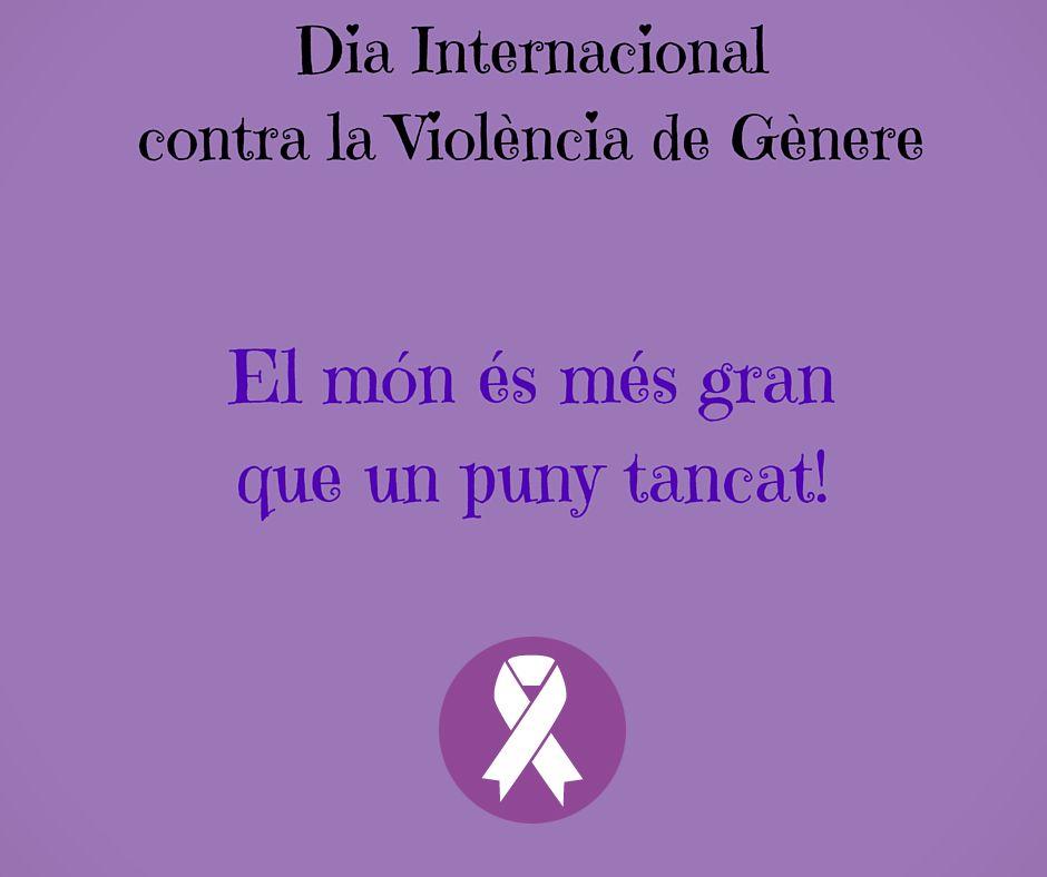 """Resultat d'imatges per a """"fotos de violencia de genere catalan"""""""