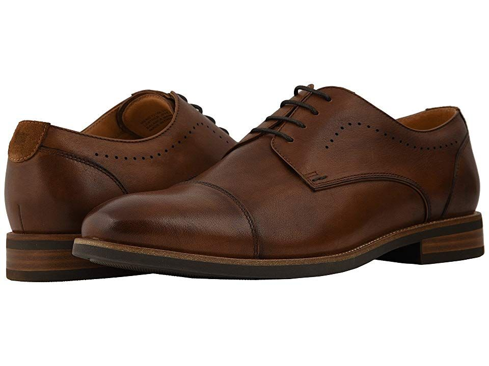 Florsheim Uptown Cap Toe Oxford Men S Lace Up Cap Toe Shoes Cognac Leather Suede Cap Toe Shoes Oxford Shoes Apple Watch Nike