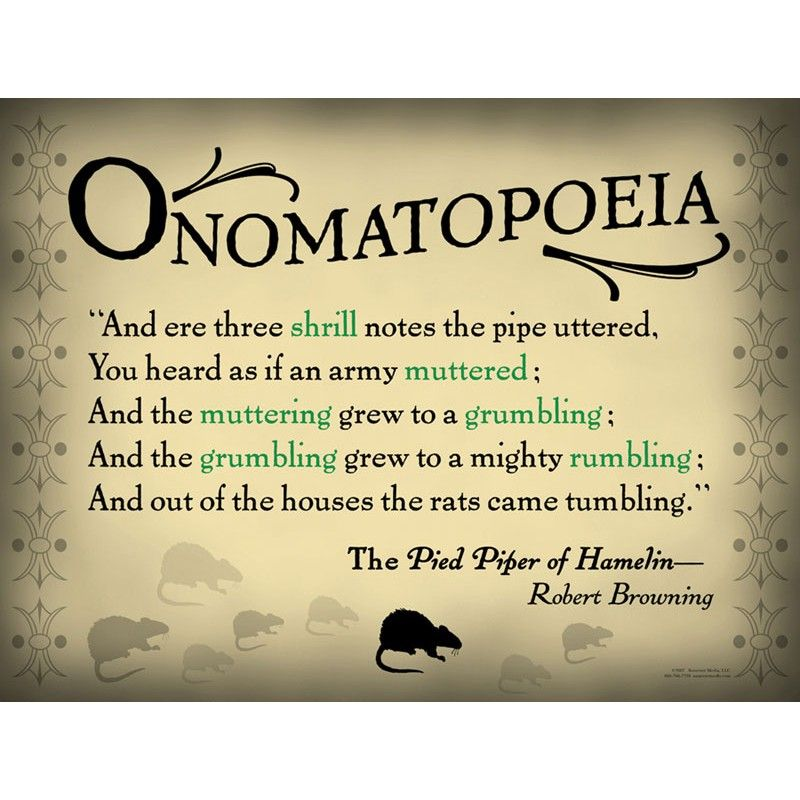 Onomatopoeia Refers To A Word That Phonetically Mimics Or Resembles