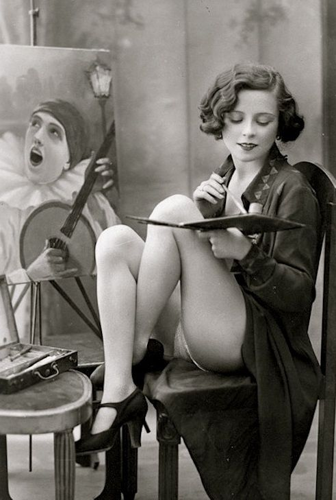 French postcards erotica
