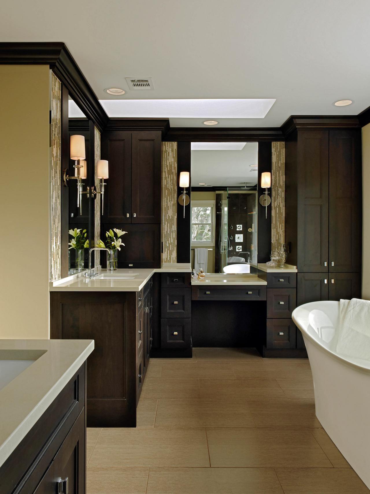 Luxurious Master Bath With Caesarstone | Luxury master ...