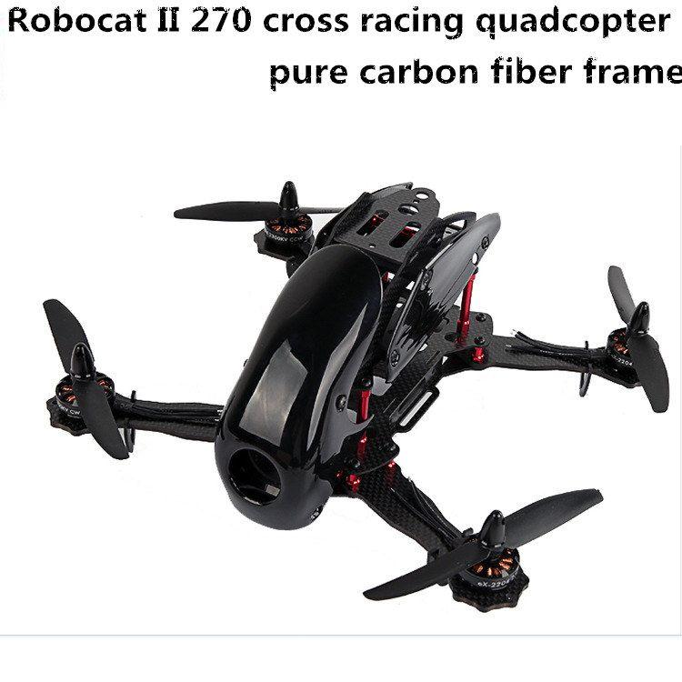 DIY FPV mini drone Robocat II 270 cross racing quadcopter empty ...