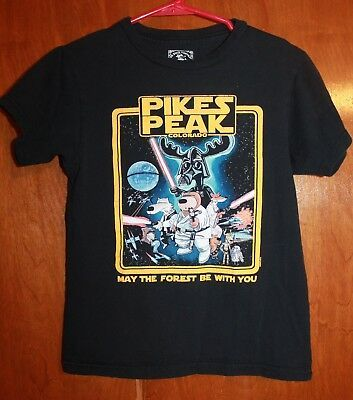 Boys' Small T-shirt PIKES PEAK COLORADO (Star Wars - May the Forest Be With You) #fashion #clothing #shoes #accessories #baby #babytoddlerclothing (ebay link)