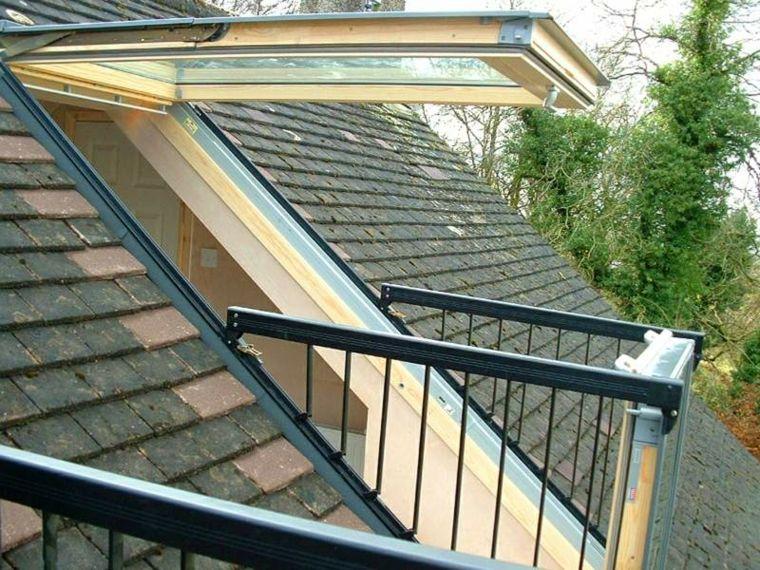 Das perfekte Fenster für Penthäuser: La Velux Cabrio Balkon. | Decke ...