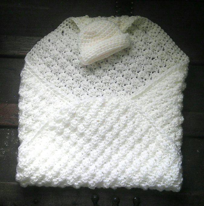 Angel Baby Blanket Premie Blanket Crochet Pattern Break
