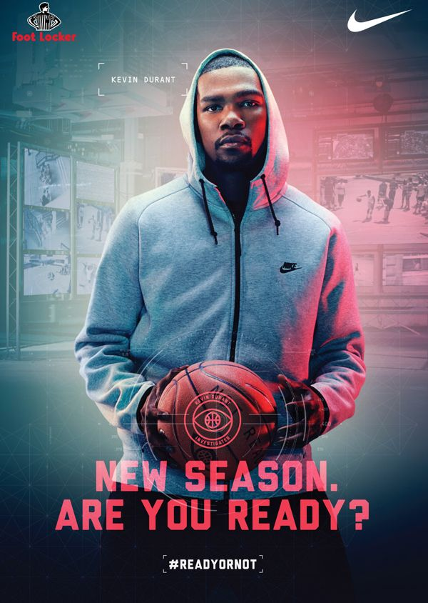 Nike VS Footlocker ft Kevin Durant by Timothy Saccenti ...