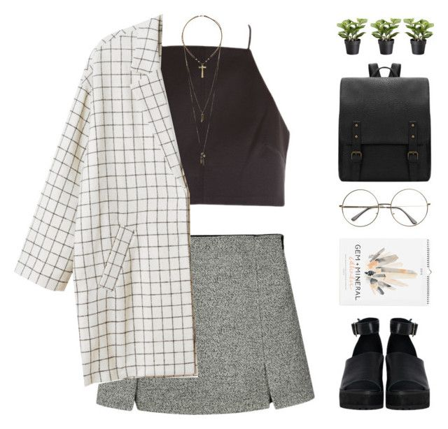 """Lindy"" by chelseapetrillo ❤ liked on Polyvore featuring The WhitePepper, Monki, Relic, women's clothing, women, female, woman, misses and juniors"
