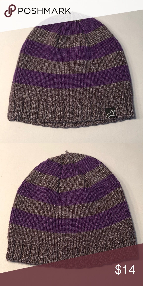 Alpinestars Women s Winter Beanie Toboggan Hat Cap 56% Cotton 44% Nylon. Women s  Beanie. Brand New with tags. Very high quality! 7fba3165be