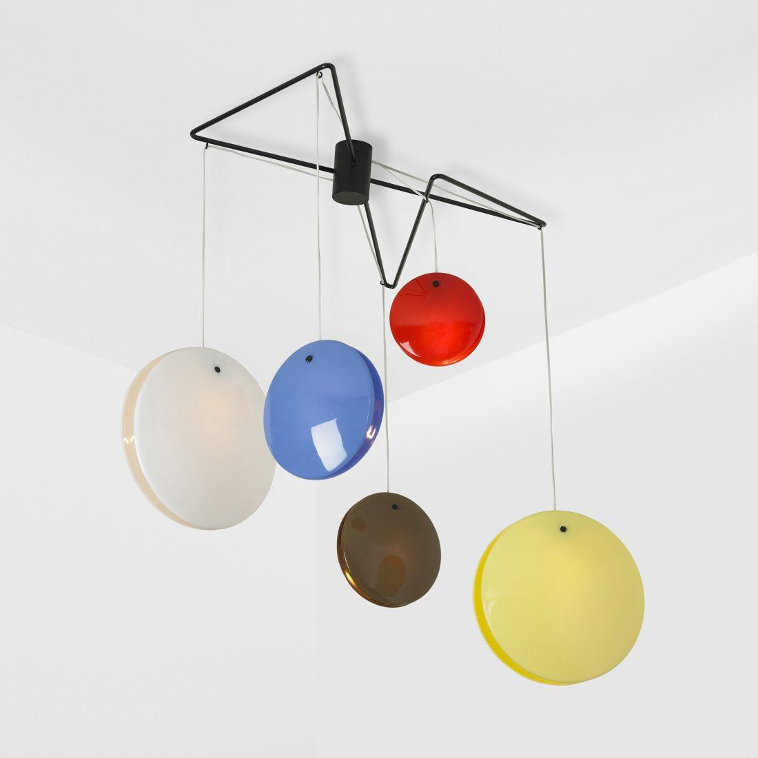 Gino Sarfatti chandelier, model 2072
