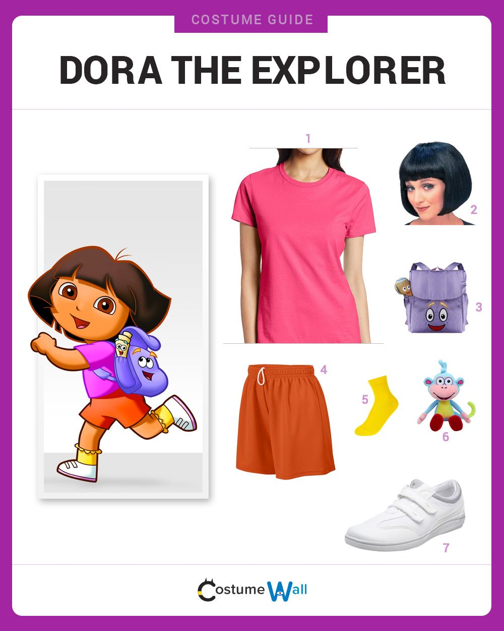 Dress Like Dora the Explorer   Costumes and Halloween costumes