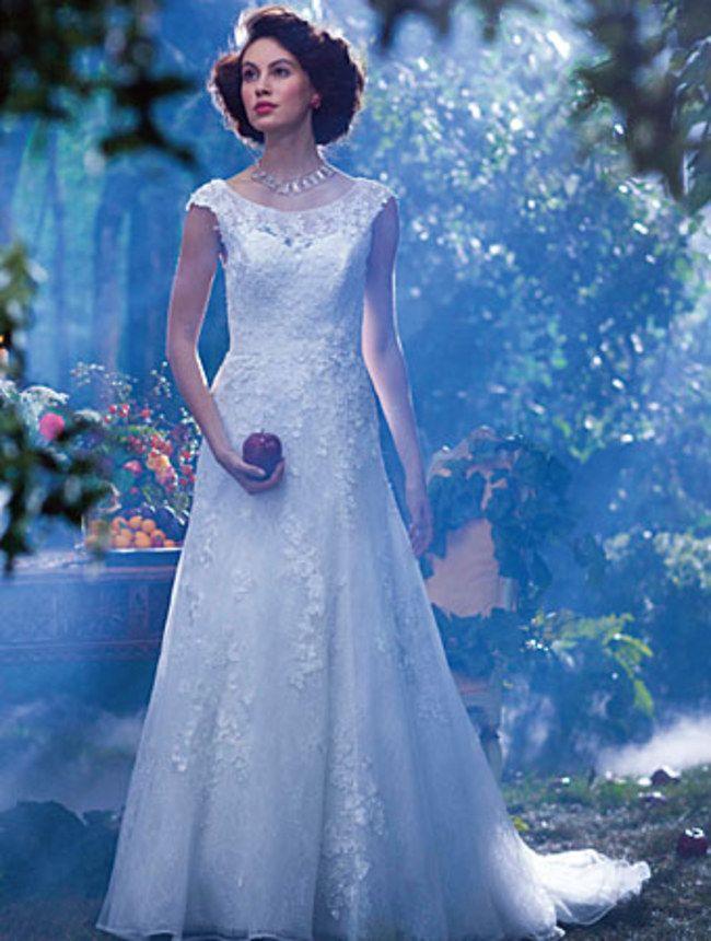 Photo de la robe de blanche neige