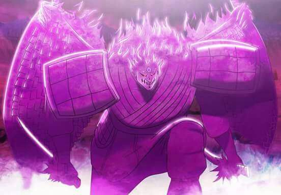 Sasuke Perfect Susanoo Seni Anime Gambar Animasi