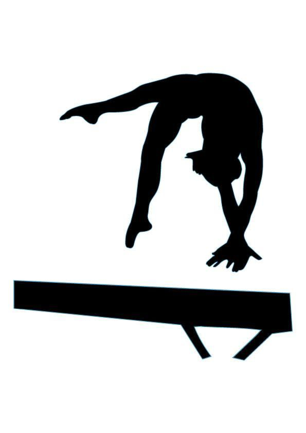 free gymnastics clipart pictures clipartix gymnastics shirts rh pinterest com gymnastics clipart images gymnastics clipart black and white