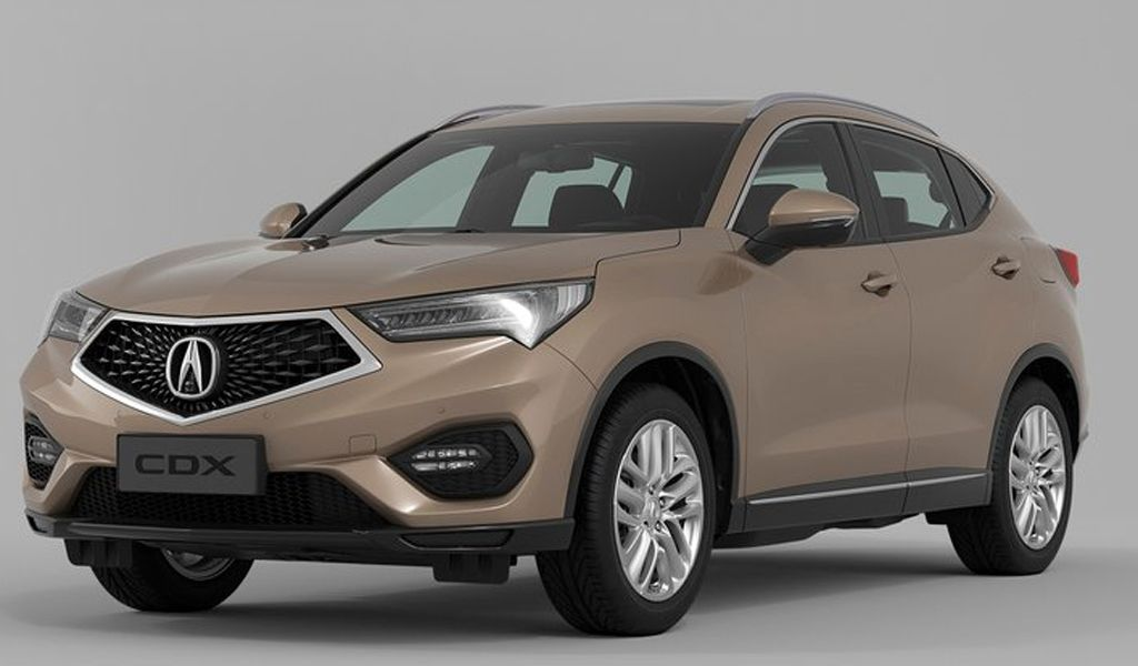The Acura Cdx 2019 Is Actually A Modified Crossover Generated Recently Expected To Reach The Us Market Sometime In 2019 Because The 2019 Product Can Be Built On