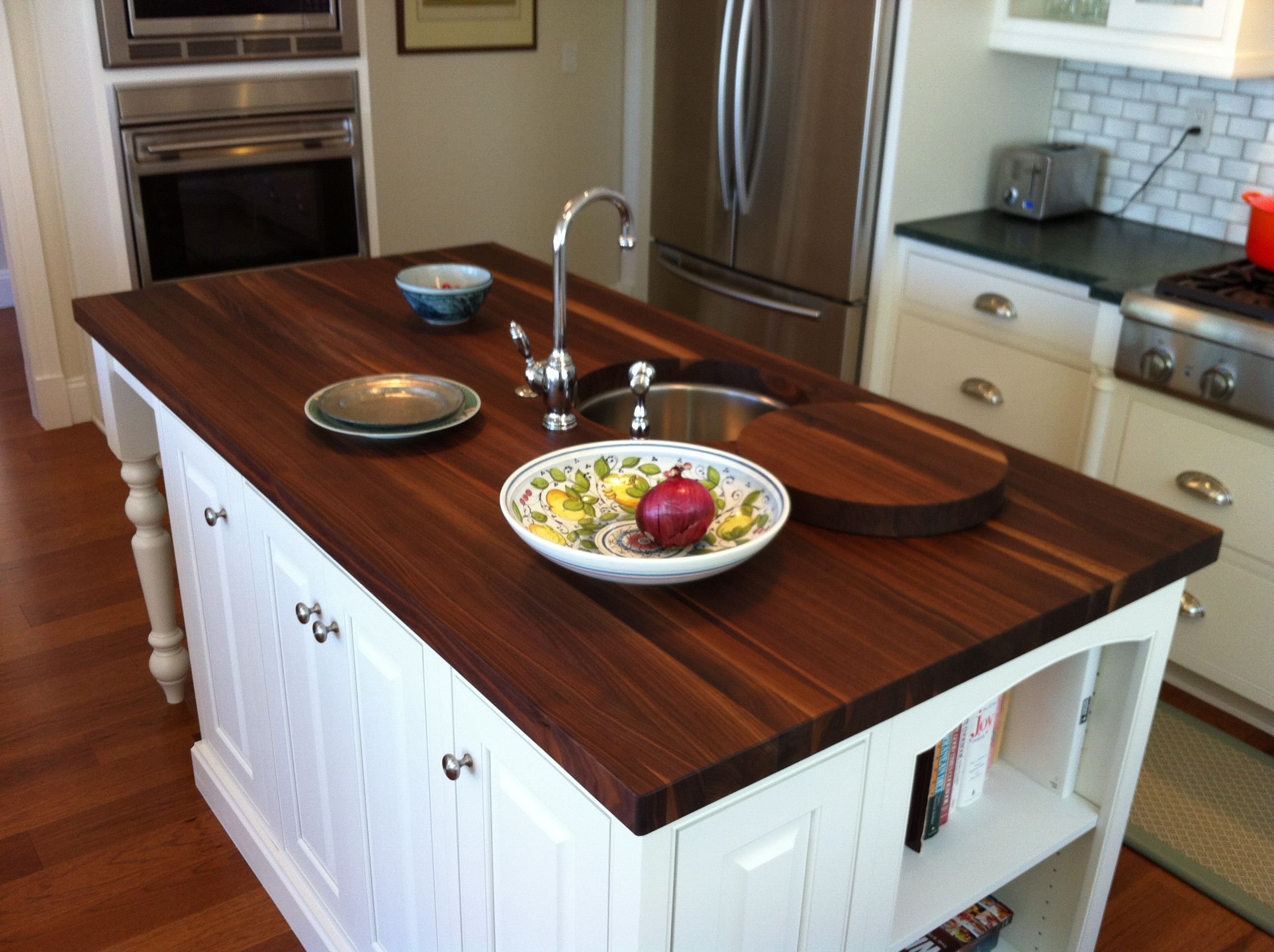 Soapstone Butcher Block Island Kitchen Pinterest Soapstone Countertops Soapstone And