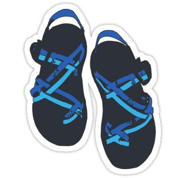 Chacos Stickers