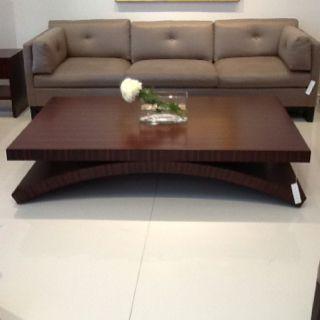 Bolier Arch table in Macassar ebony veneer