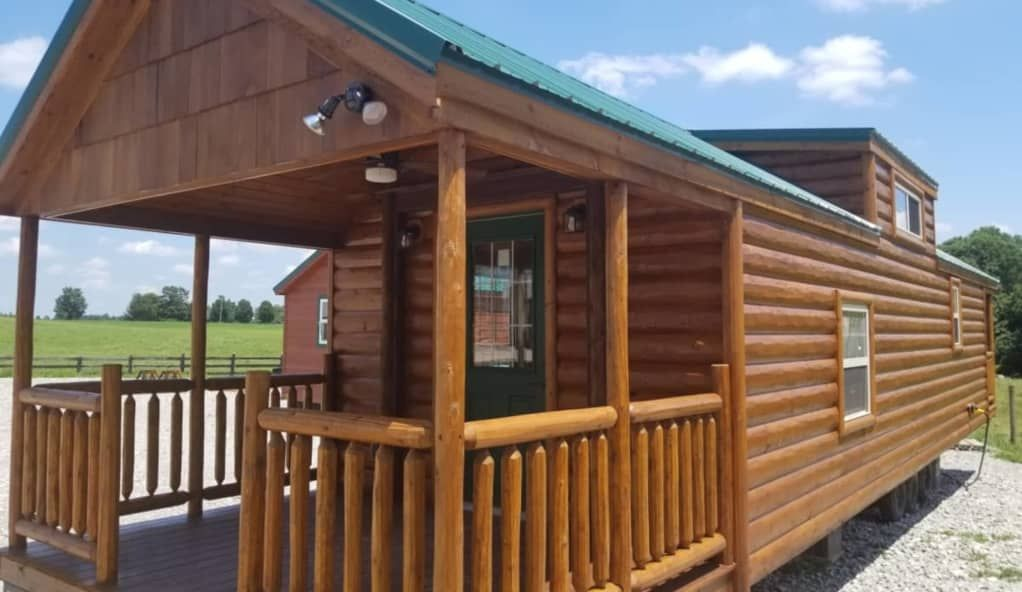 Best Goldenrod Rvia Park Model Cabin Amish Built Park Model 400 x 300
