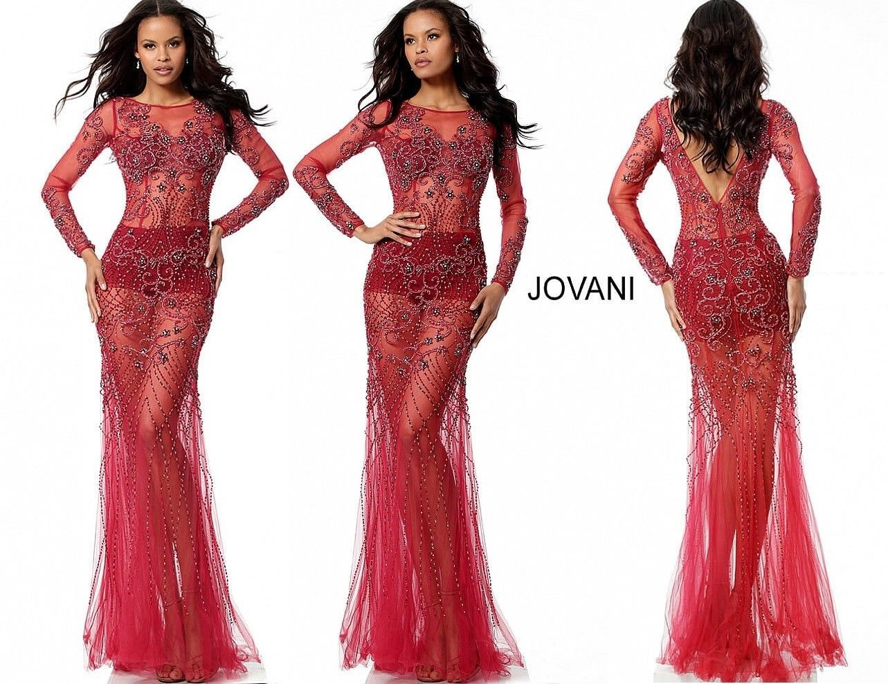4e664a23ab3 JOVANI 55617 authentic dress. FREE UPS USPS. Limited stock ! BEST SERVICE !
