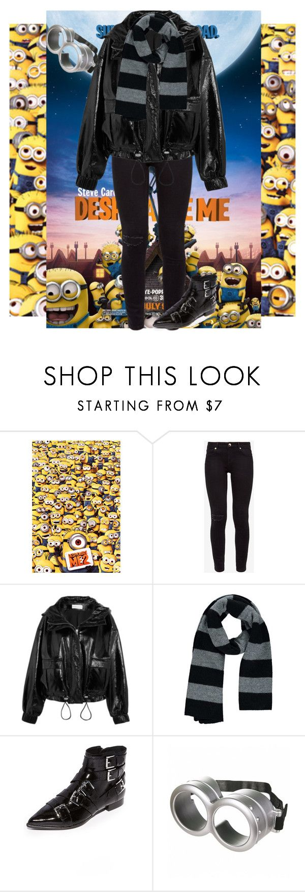 """26.1"" by blackrose15orchiday ❤ liked on Polyvore featuring Despicable Me, Ted Baker, Wanda Nylon, Forever 21 and Ash"