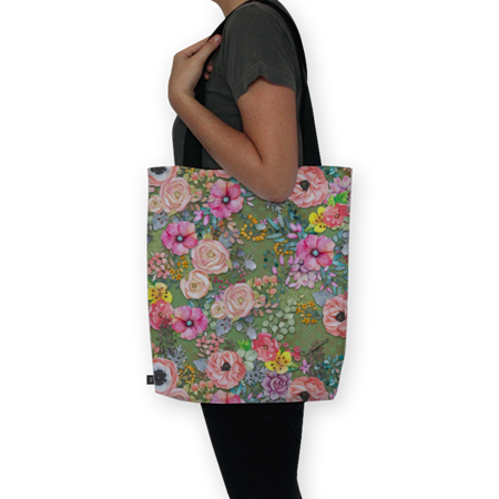 Bolsa Flowers in my hair de @jurumple | Colab55