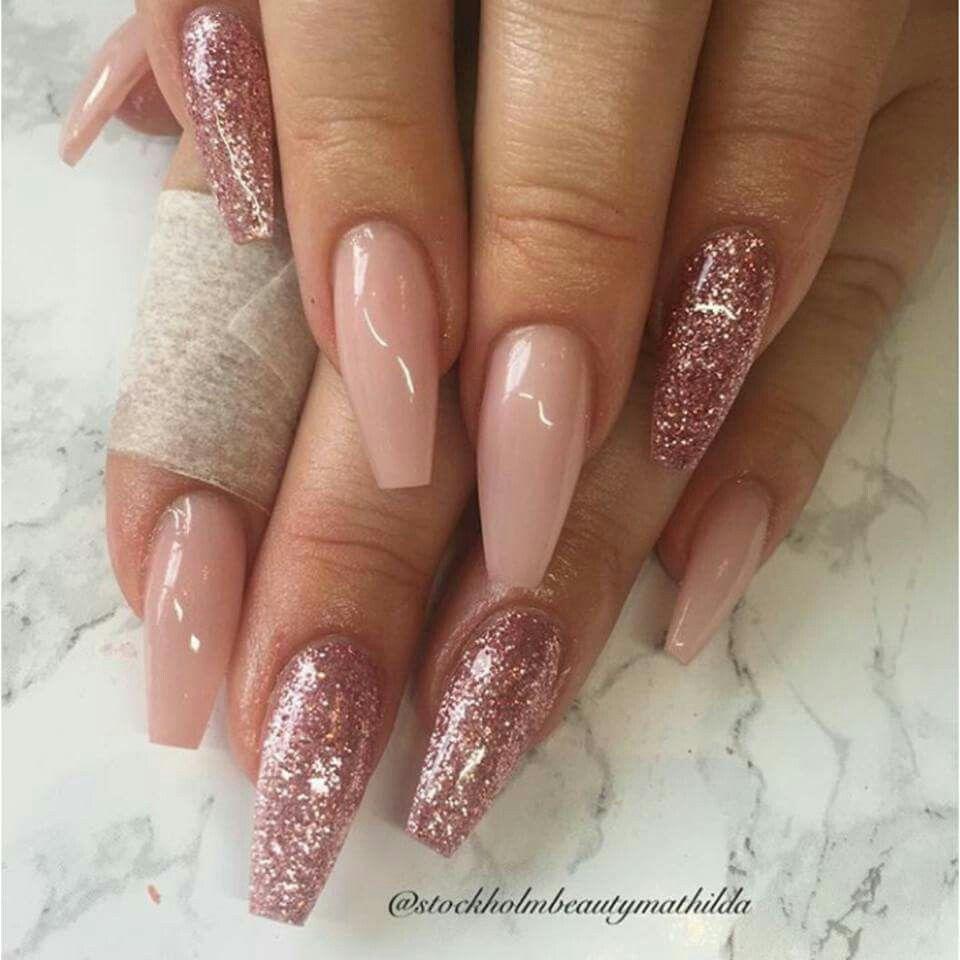 Glitter | nail designs | Pinterest | Nail nail, Nail inspo and Prom ...
