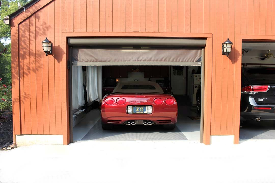 Retractable Garage Screen For Single, Double, And Golf Cart Garages. These  Screens Can