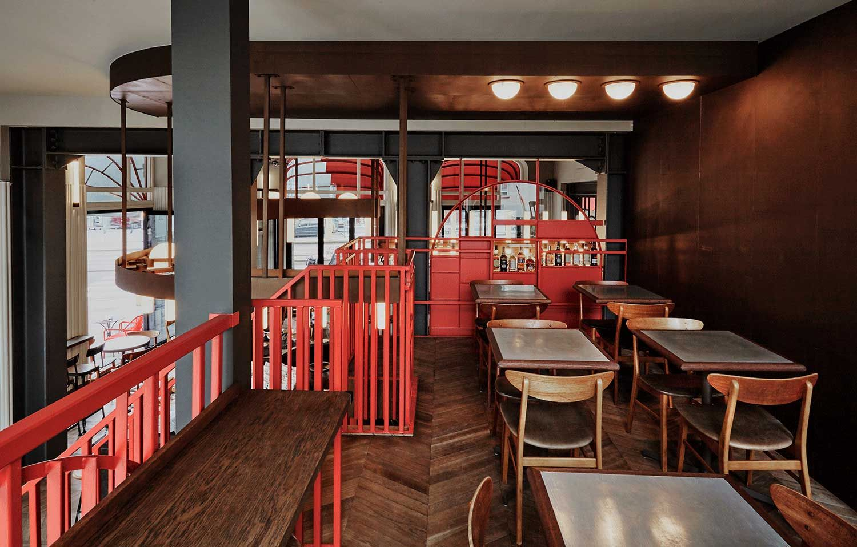 Holy Smoke In Rotterdam By Studio Modijefsky Hospital Interior Design Smoke Bar Restaurant Kitchen Design