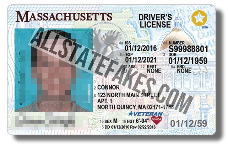 Fake id massachusetts massachusetts state outline